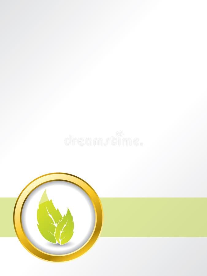 Conception de brochure de lame illustration de vecteur