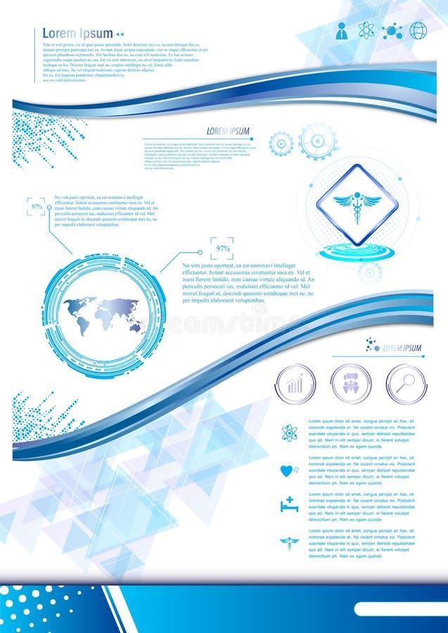 Conception de calibre de concept d'innovation de vecteur illustration de vecteur