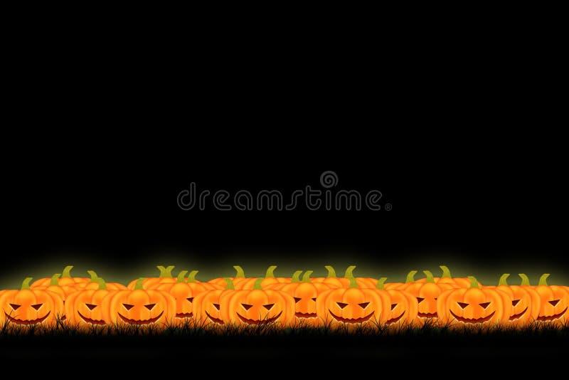 Conception de calibre de Halloween avec l'espace pour le texte ou le message photographie stock libre de droits