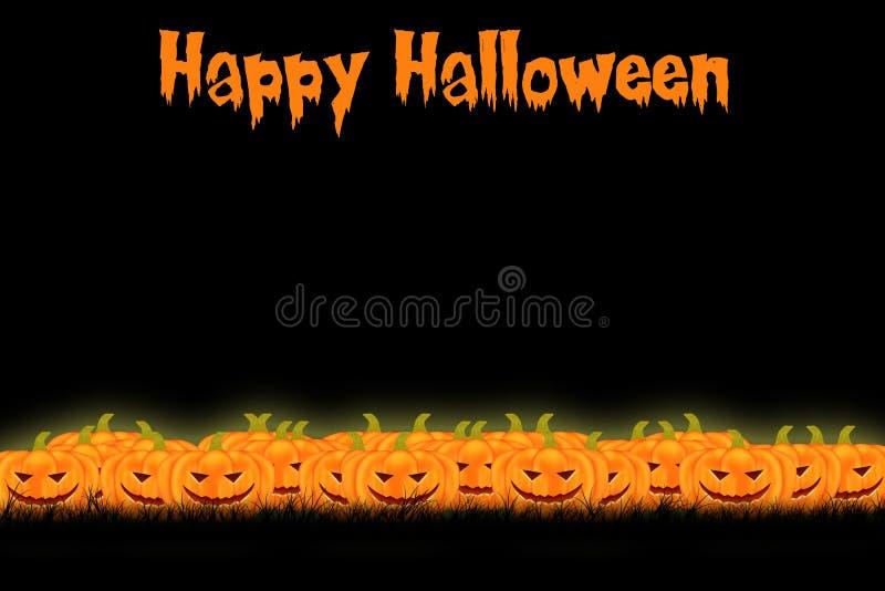 Conception de calibre de Halloween avec l'espace pour le texte ou le message photo stock