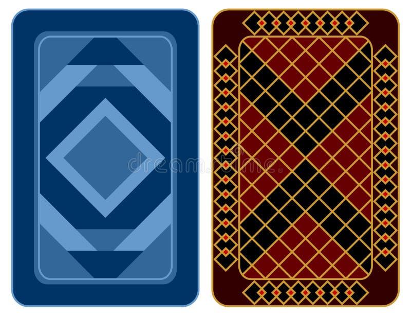 Conception de carte de jeu. illustration de vecteur