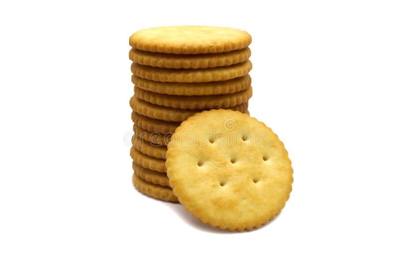 Conception de cercle de biscuit de biscuits images stock