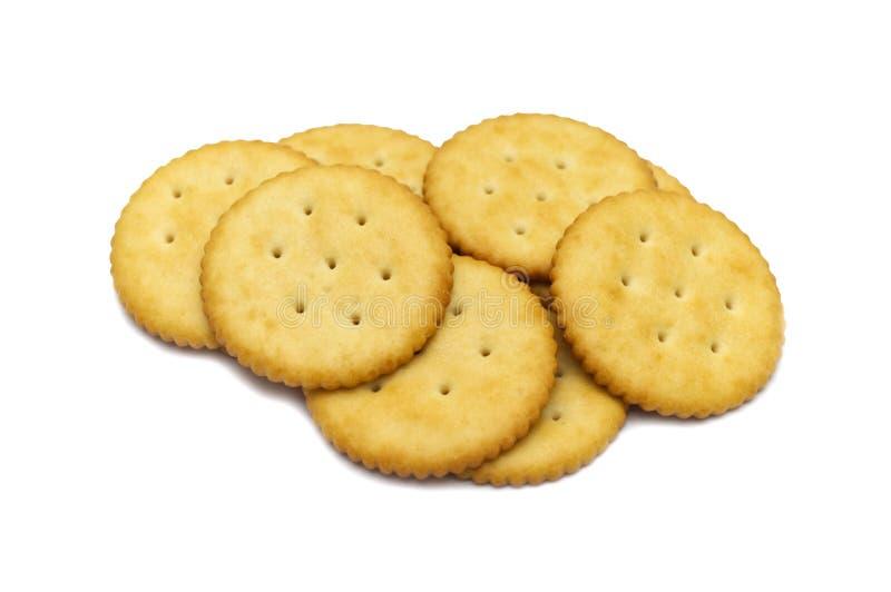 Conception de cercle de biscuit de biscuits photos stock