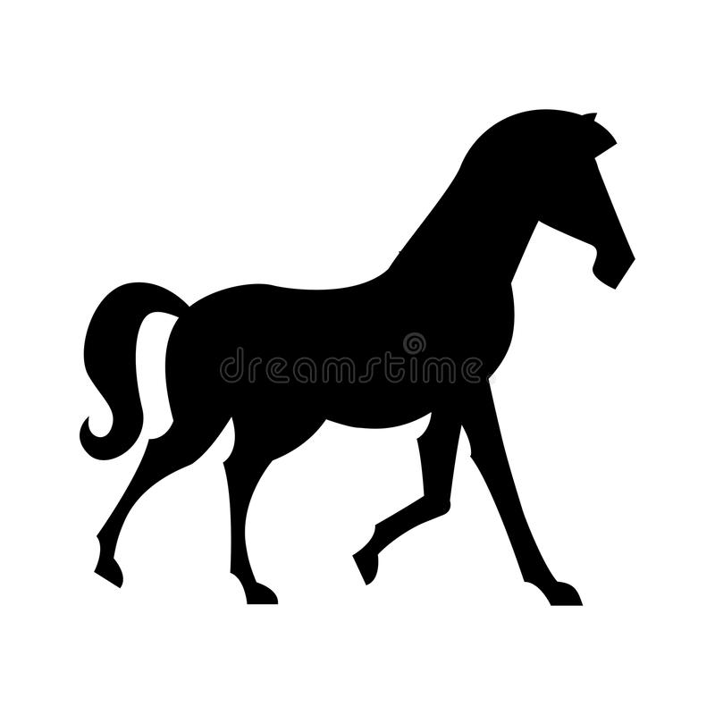 Conception de cheval illustration stock
