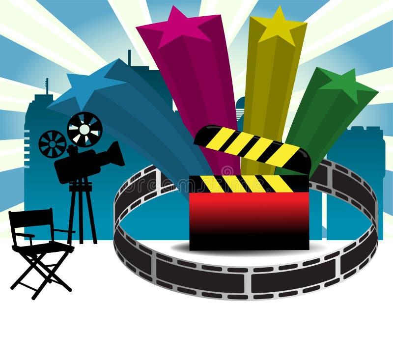 Conception de cinéma illustration libre de droits