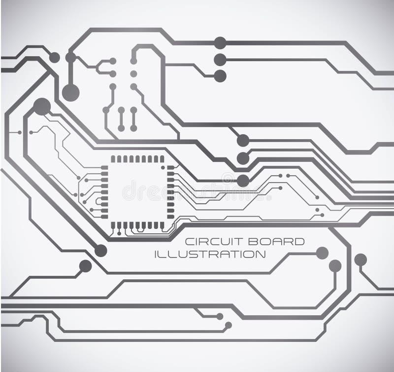 Conception de circuit illustration de vecteur