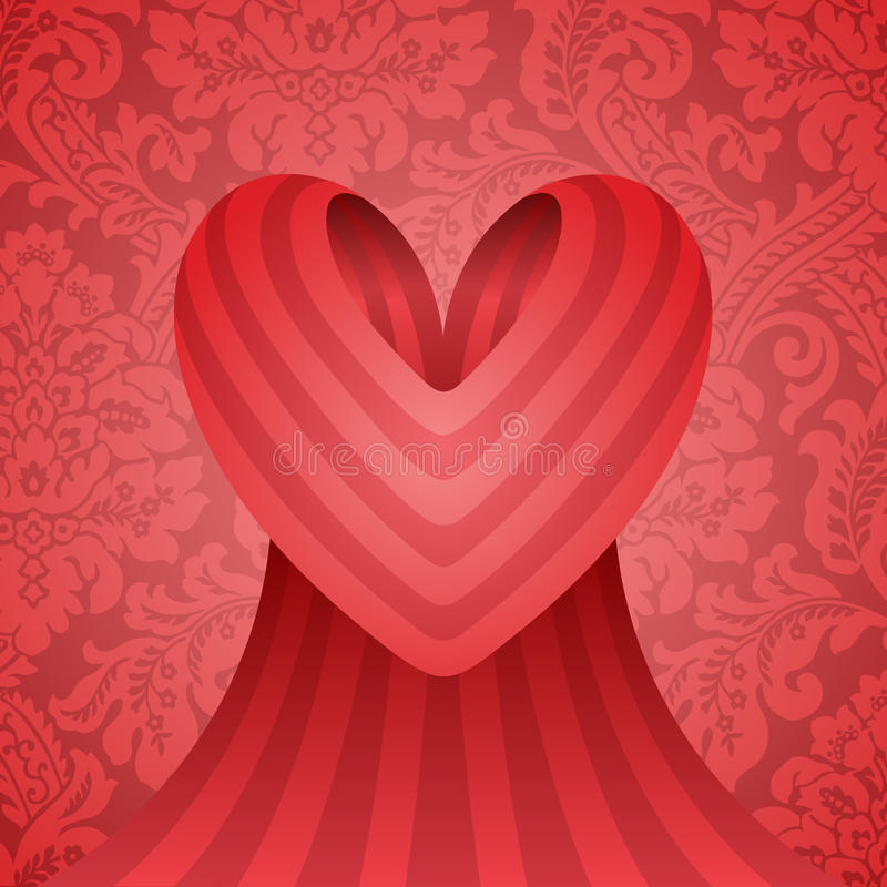 Conception de coeur image stock
