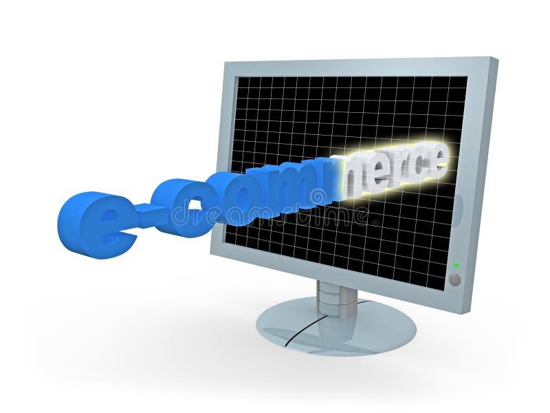 Conception de commerce électronique illustration de vecteur