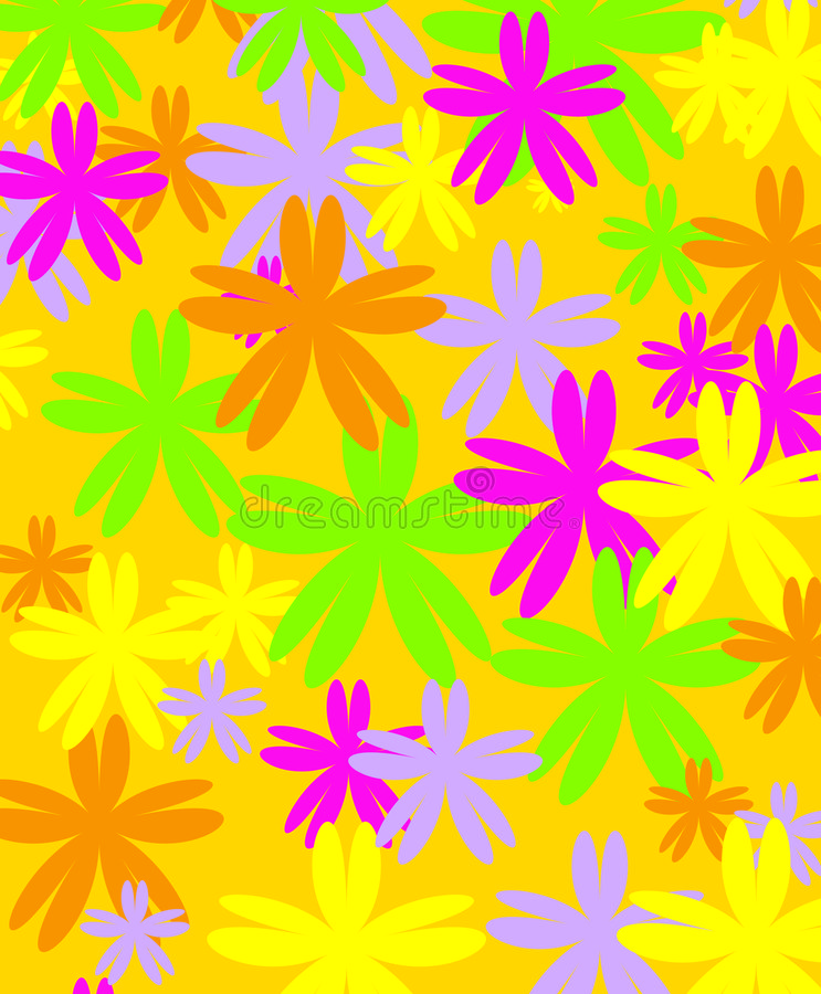 Conception de fleur photos libres de droits