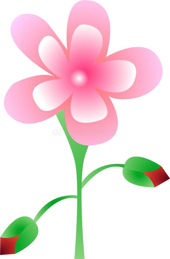 Conception de fleur photo libre de droits