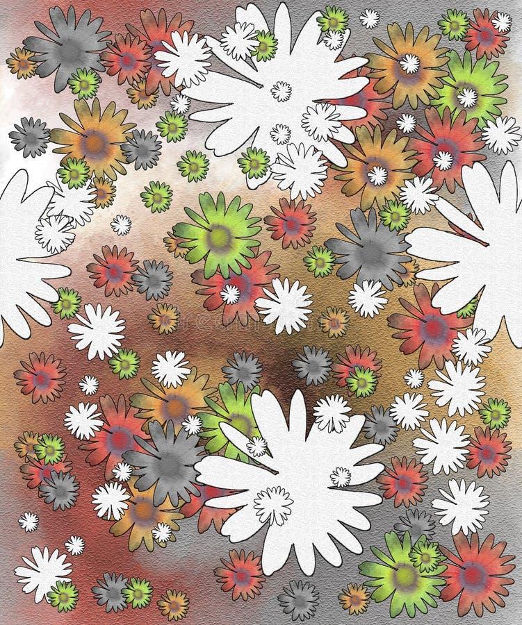 Conception de fleurs photographie stock libre de droits