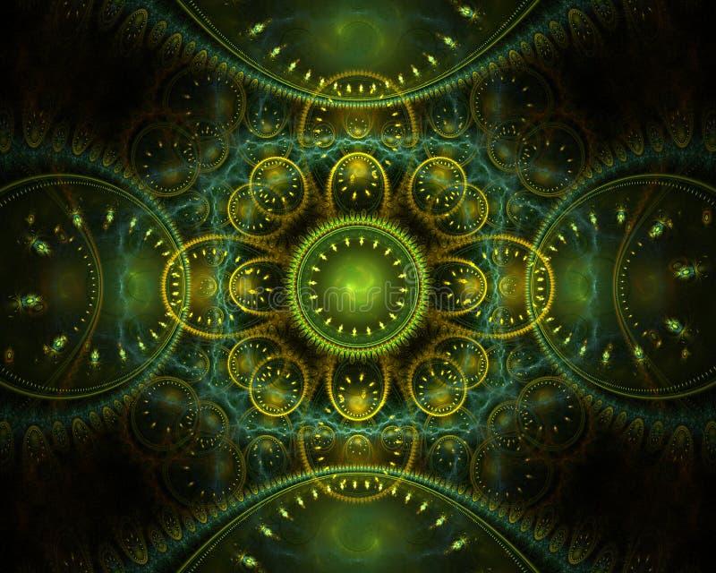 Conception de fractale images libres de droits