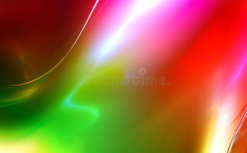 conception de fractale rendue par 3D illustration libre de droits