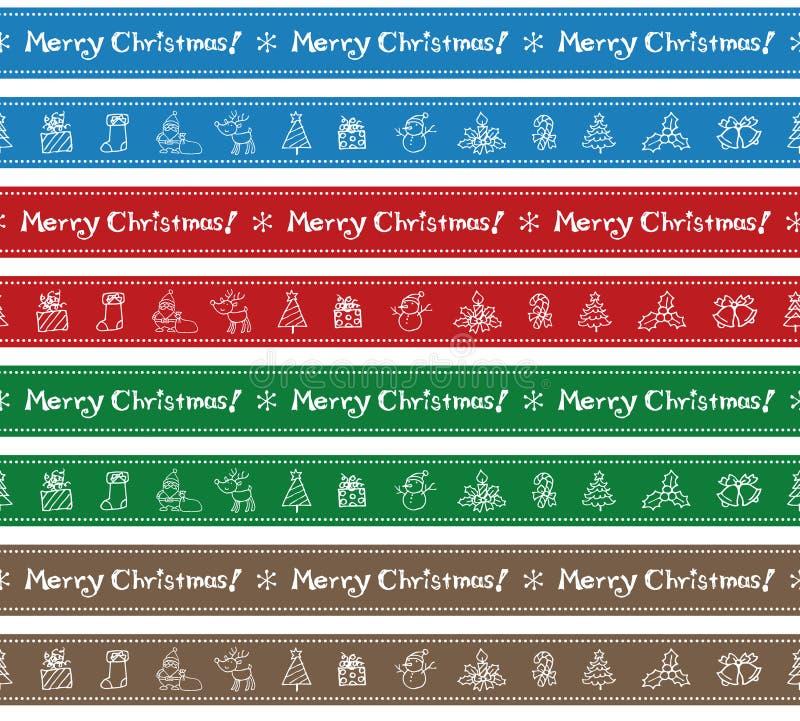 Conception de frontière de Noël illustration libre de droits