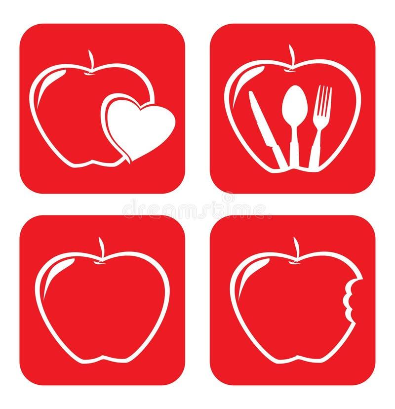 Conception de fruits illustration libre de droits