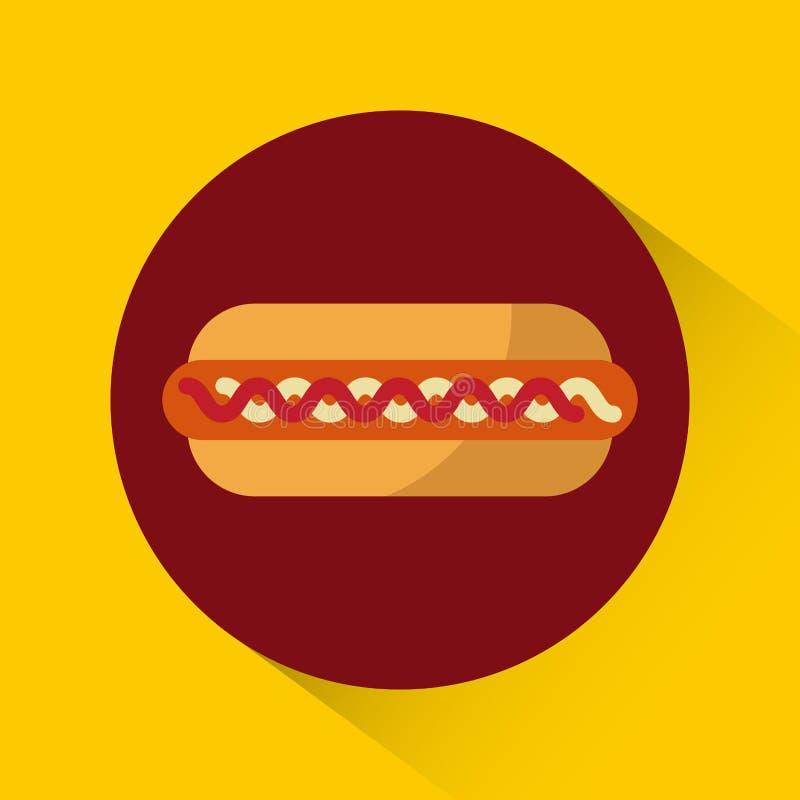 conception de gril de barbecue illustration stock
