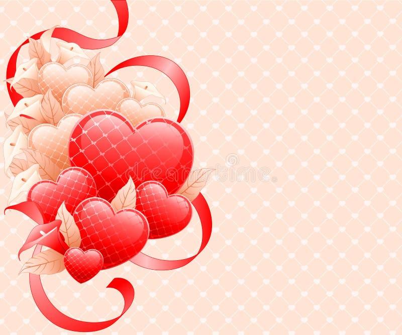 Conception de jour de Valentines. illustration libre de droits