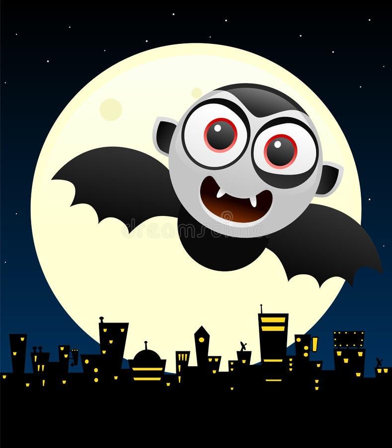 Conception de l'avant-projet de Halloween avec Dracula illustration stock