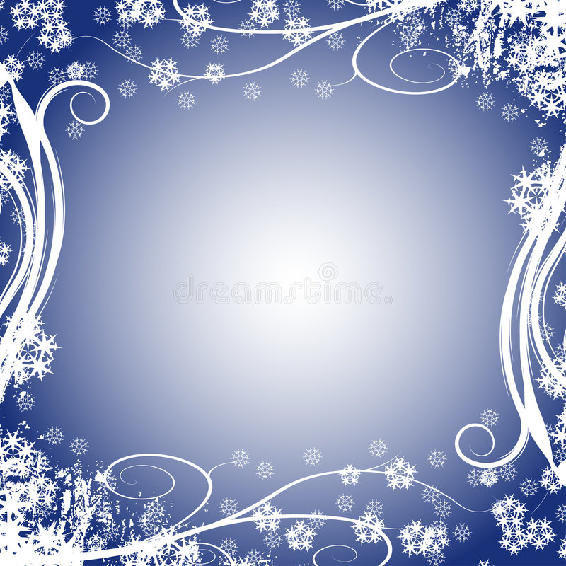 Conception de l'hiver illustration stock