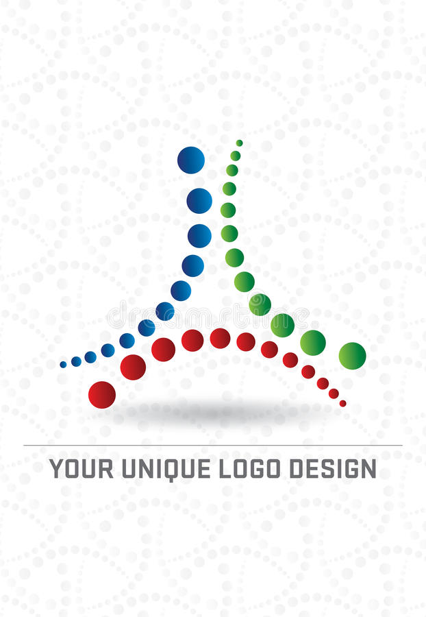 Conception de logo illustration stock