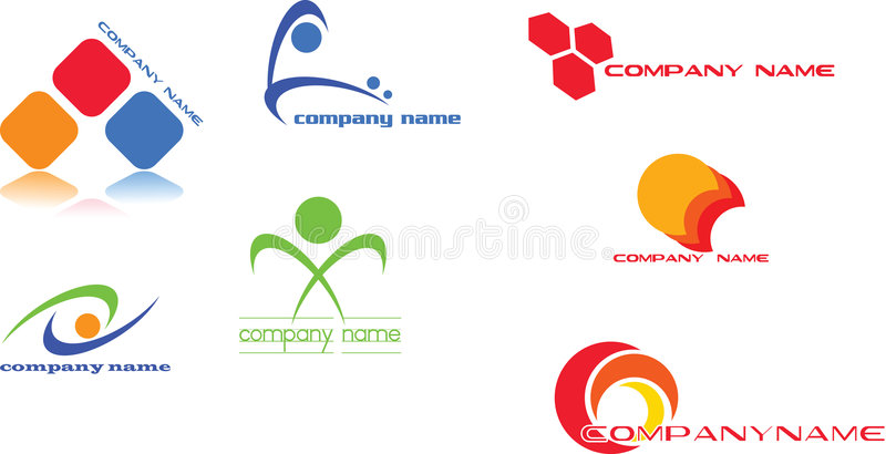 Conception de logo illustration libre de droits