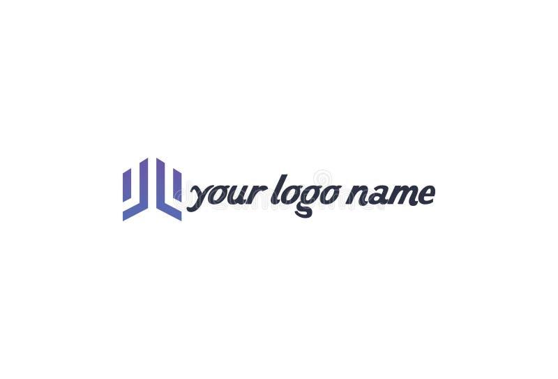 Conception de logo d'affaires de vecteur illustration stock
