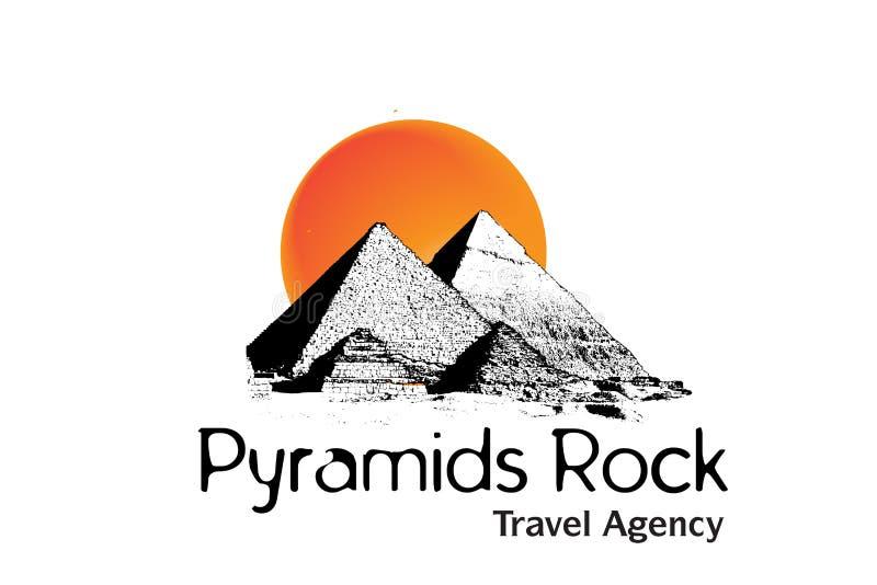 Conception de logo d'agence de course illustration de vecteur