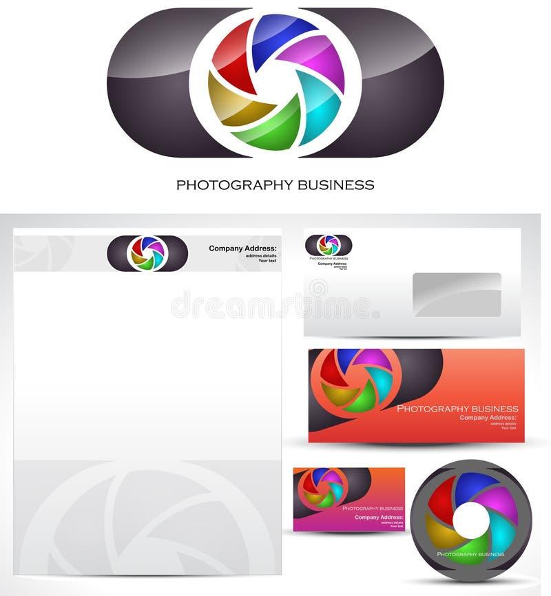 Conception de logo de descripteur de photographie illustration libre de droits