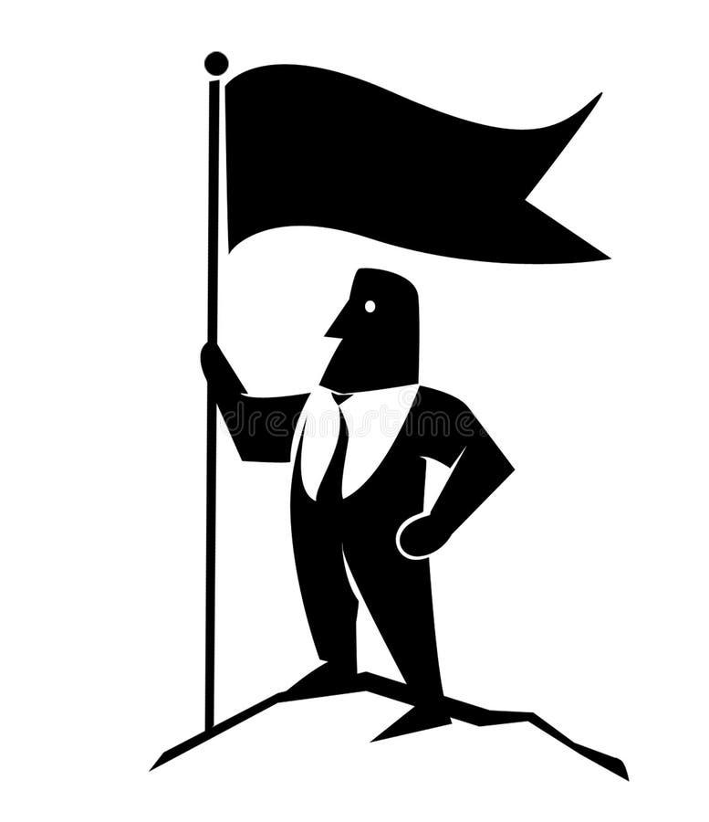 Conception de logo de pictogramme pour la société photographie stock libre de droits