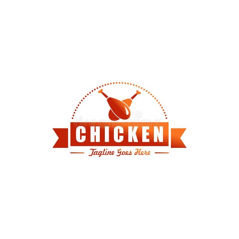 Conception de logo de restaurant illustration libre de droits