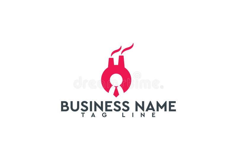 Conception de logo de vecteur illustration stock
