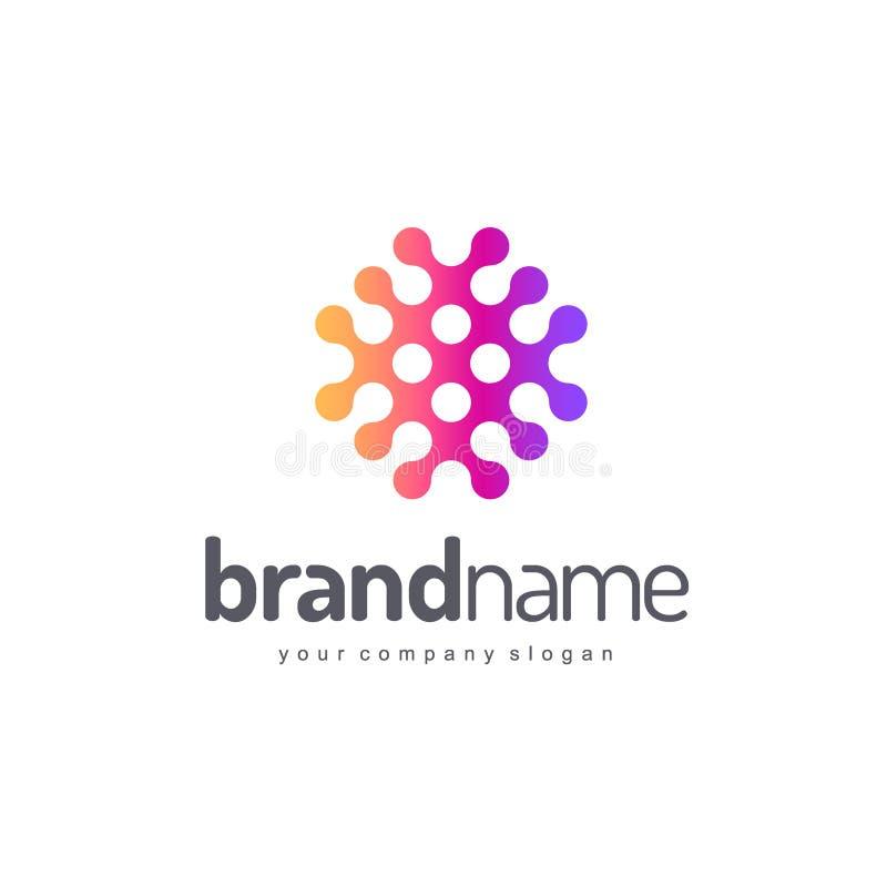 Conception de logo de vecteur pour des affaires Descripteur de vecteur illustration de vecteur