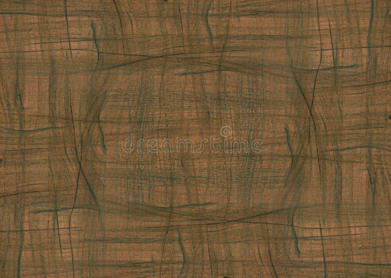 Conception de marbre en bois illustration stock