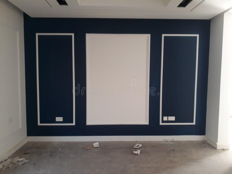 Conception de mur pour la pièce images stock