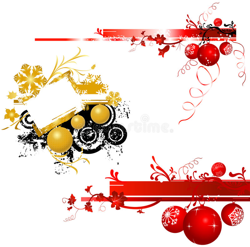 Conception de Noël illustration stock