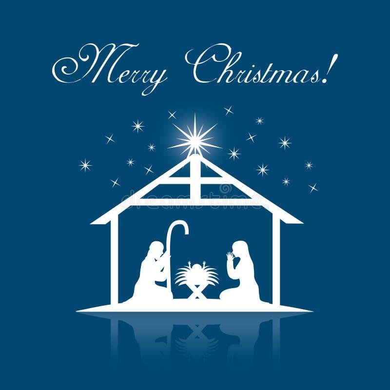 Conception de Noël illustration libre de droits