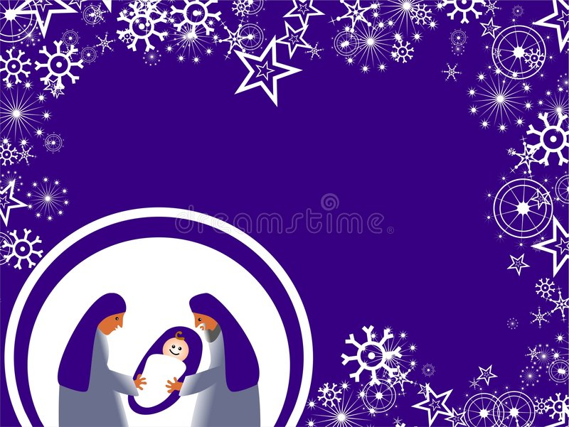 conception de Noël illustration stock