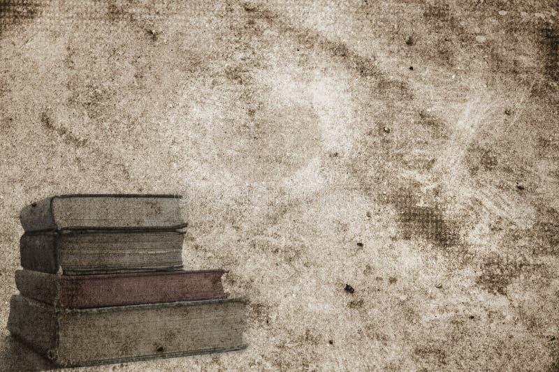 Conception de page de fond pour un livre, un album ou un papier peint de photo dans le brun antique photographie stock