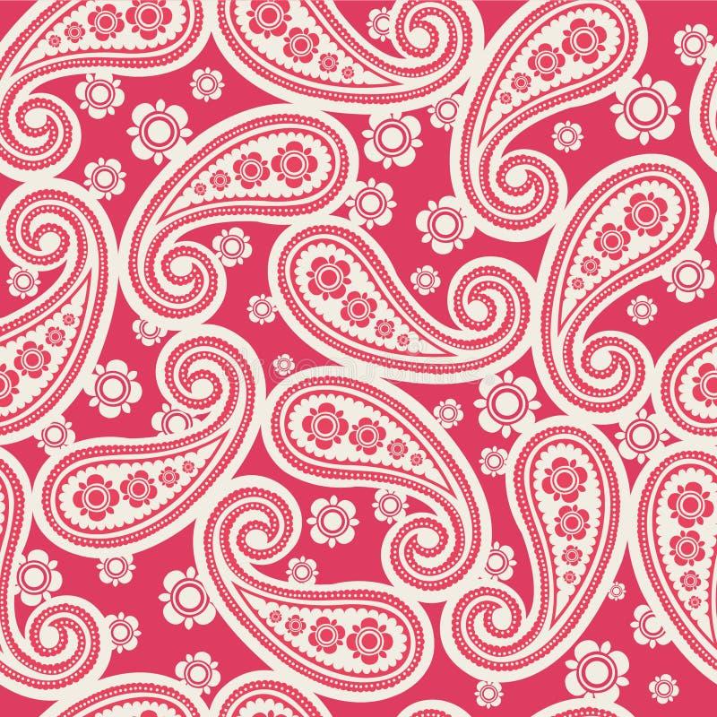 Conception de Paisley illustration de vecteur
