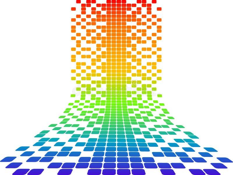 Conception de Pixel illustration libre de droits