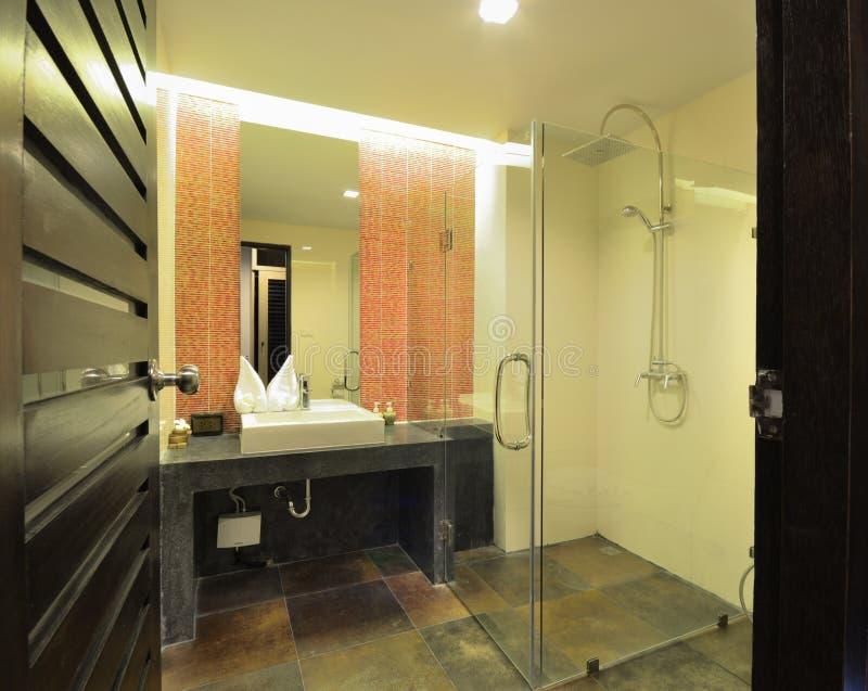 Conception de salle de bains photos stock