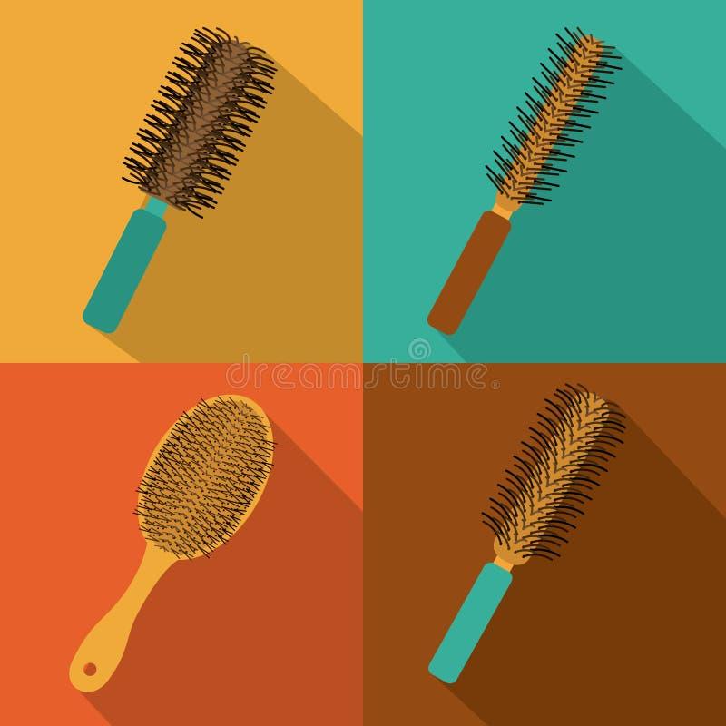 Conception de salle de cheveux illustration libre de droits