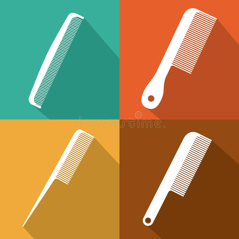 Conception de salle de cheveux illustration stock