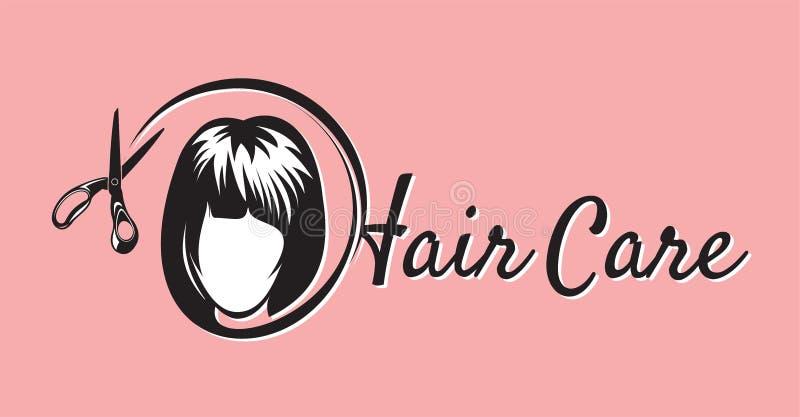 Conception de salon de coiffure illustration libre de droits
