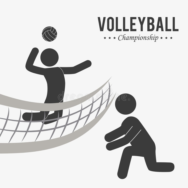 Conception de sport illustration stock