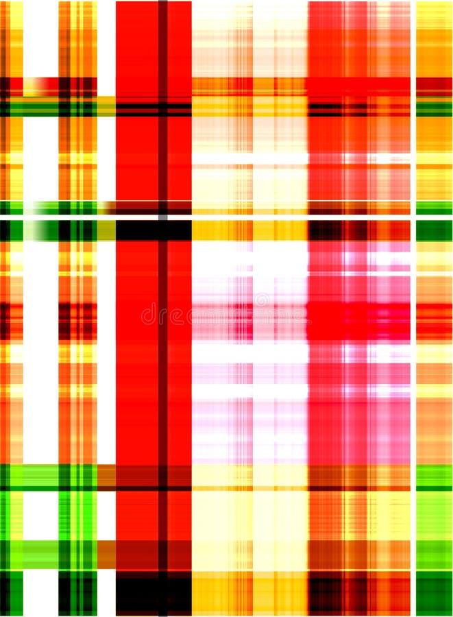 Conception de tartan pour l'habillement Modèle de textile illustration stock