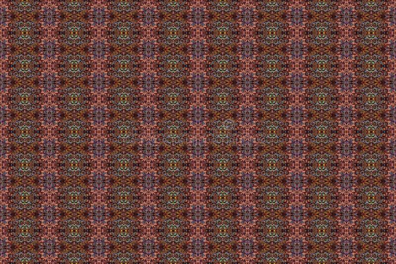 Conception de textile d'origine ethnique de mod?le mat?riau illustration libre de droits