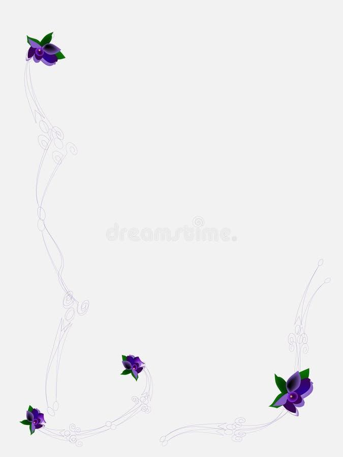 Conception de trame de fleur illustration libre de droits