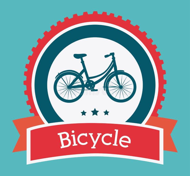 Conception de vélo illustration stock
