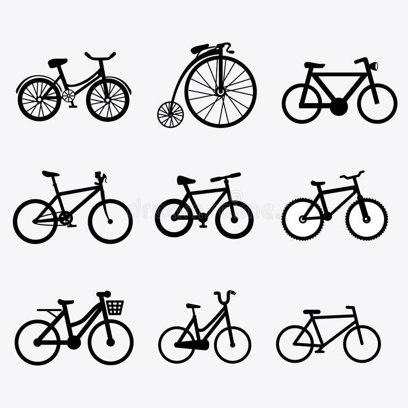Conception de vélo illustration de vecteur